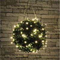 set 80 LED white fairy decorative lights Christmas XMAS TREE OUTDOOR + TIMER CW