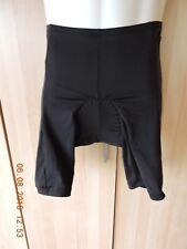 Performance men's 87%nylon 13% spandex black padded cycling shorts size S