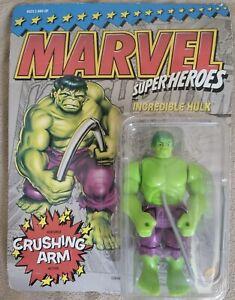 "ToyBiz Vintage Hulk Marvel Super Heroes 1991 VHTF 5"" Action Figure"