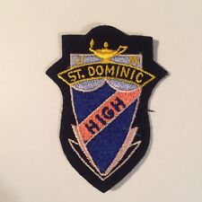 ST. DOMINIC HIGH PATCH