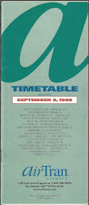 AirTran Airways system timetable 9/9/98 [6061] (buy 4+ save 50%)