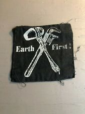 [9010 - PA1] Patch tissus pour t-shirt - coton - Punk- Earth First