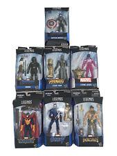 Marvel Legends Build-A-Ffigure (BAF) Thanos - Complete 7-Character set