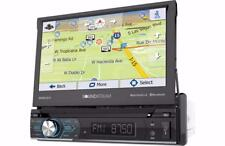"Soundstream VRN-74HB 1-DIN NAV DVD Touchscreen Bluetooth Receiver w/ 7"" LCD"