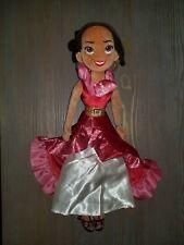"Disney Store Elena of Avalor Princess 20"" Plush Soft Toy Doll"