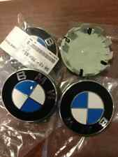 CENTRES DE ROUES CABOCHONS CACHES MOYEUX BMW EE36 E46 E90 E91 E92 E93 ORIGINAL