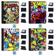 X Men Retro Comics Cover Leather Case For iPad Mini 1 2 3 4 Pro 9.7 10.5 Air