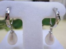 NEW - Freshwater Pearl Earrings & .925 Silver
