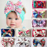 Baby Toddler Kids Girl Large Bow Headband Flower Hair Band Headwear Head Wrap