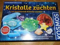 KOSMOS Experimentierkasten * Kristalle züchten * 32 Seiten Anleitung Chemikalien