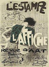 Affiche Originale - Pierre Bonnard - L'Estampe et l'Affiche – Revue d'Art - 1897