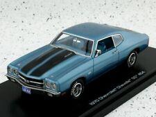 CHEVROLET Chevelle SS 454 - 1970 - bluemetallic - Auto World 1:43