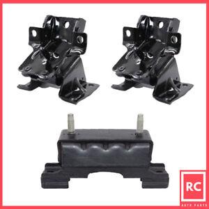 Motor & Trans Mount 3PCS Fit 11-16 GMC Sierra 2500 HD/ Sierra 3500 HD 4WD 6.6L