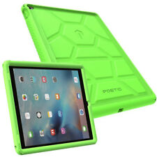 For iPad Pro 12.9 2015 [Shockproof] w/Drop Protection Silicone Case Cover Green