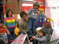 Gilles Villeneuve Family Portrait Canadian Grand Prix 1979 Photograph