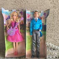 Mattel Barbie Princess & the Popstar Tori Doll & Popstar Liam