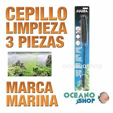 Cepillos limpieza Marina - 3 Piezas limpia tubos filtro acuario pecera gambario