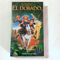 The Road To El Dorado. VHS Video Tape Kids Movie 2000 Dreamworks Animated PAL