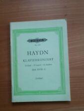 Noten. Haydn. Klavierkonzert D-Dur Hob.XVIII:11. Taschenpartitur.