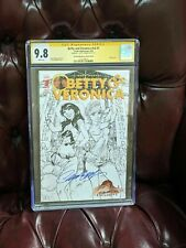 Betty and Veronica #v3 #1 CGC SS 9.8 Sketch Cover JSC Campbell Autograph