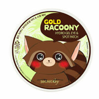 [SECRET KEY] Gold Racoony Hydro Gel Eye & Spot Patch 90P / Eye 60 + Spot 30patch
