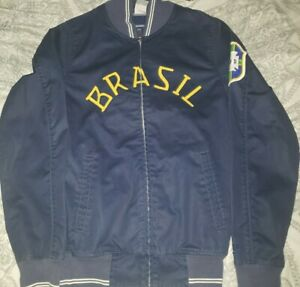 Nike CBF Brazil Anthem Soccer Jacket  Full Zip Men's Size XS BNWT
