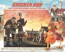 Chicken Run, original 2000 Lobby Card Set, Nick Park, DreamWorks animation