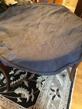 """ORVIS DOG Bed Cover Round Nest New  Xl Extra Large Cover ONLY 48"""" Monogram"""