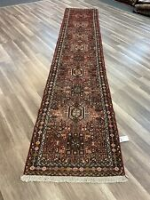 On Sale Beautiful Genuine Vintage Hand Knotted Tribal Runner 2'5�x12'6�#548