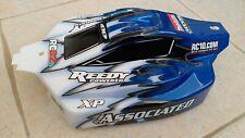 Team Associated RC8.2e factory prepaint buggy body (blue)