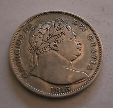 Great Britain, George III, 1/2 Crown, 1816, Silver, KM:667