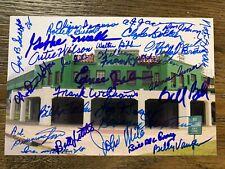 Negro League Baseball Legends signed autographed photo Negro Leagues