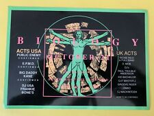 Rave Flyers   BIOLOGY   October 21st  1989.  Rare