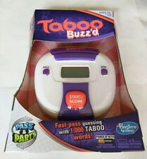 """Hasbro Taboo Buzz'd Fast-pass Electronic Family/Party Game """"NEW"""""""