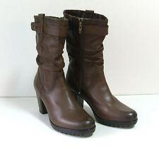 Wadenhohe Stiefel normale Weite (E) aus Echtleder für die Freizeit