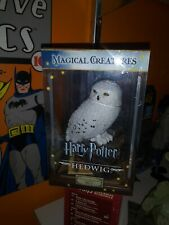 Collectible Harry Potter Magical Creatures Hedwig Statue Figurine In Case
