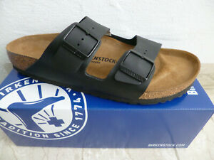 Birkenstock Arizona Mules Sandal Slippers Black 051793 New