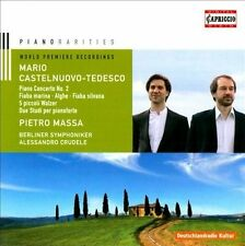 NEW - Piano Rarities by CASTELNUOVO-TEDESCO,MARIO