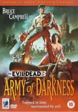 Army Of Darkness The Evil Dead 3 DVD  BRAND NEW SEALED FREEPOST