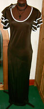 New York Laundry Black Whitby goth Party dress long size S/M BNWT