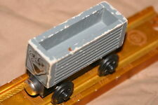 rare TROUBLESOME TRUCK WOOD TRAIN-GREY,GREY FACE=paint loss