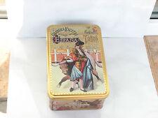Grandes Fiestas Espana tin box Corridas de Torros Spanish biscuits bulls used