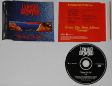 Lynyrd Skynyrd  Bring It On  1997 U.S. promo cd - Hard-to-find!