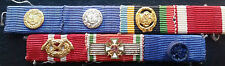 ✚7384✚ German ribbon bar post WW2 1957 pattern Service Medal Hungarian Cross DSB
