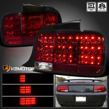 2005-2009 Mustang LED Sequential Turn Signal Tail Light Brake Lamp Red