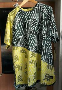 PUMA BND Tech Training Shirt Trikot Ponderosa Pine-Blazing Yellw Retro XXL gelb