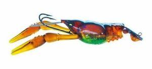 "Yo-Zuri R1109PBR 3DB Crayfish, 3"" 3/4 oz, Prism Brown, Slow Sinking"