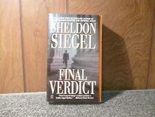 Sheldon Siegel Final Verdict (Paper Back)