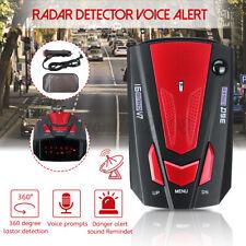 12V Détecteur de Radar de Voiture Alerte Vocale Auto Avertissement de Vitesse