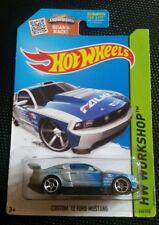 2015 Hot Wheels Custom '12 Ford Mustang * Silver *